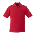 Men's French Manager Polo Shirt - Red